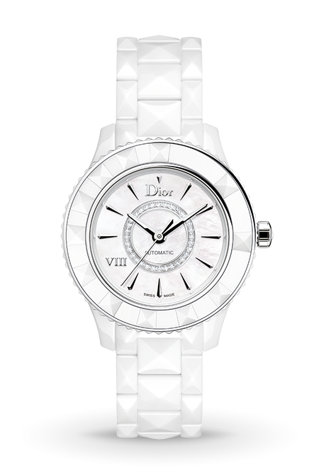VIII 33mm White Automatic