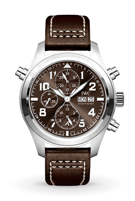 PILOT'S WATCH DOUBLE CHRONOGRAPH EDITION 'ANTOINE DE SAINT-EXUPÉRY'