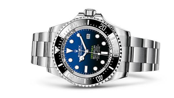 Rolex Deepsea D-blue dial - M126660-0002- image