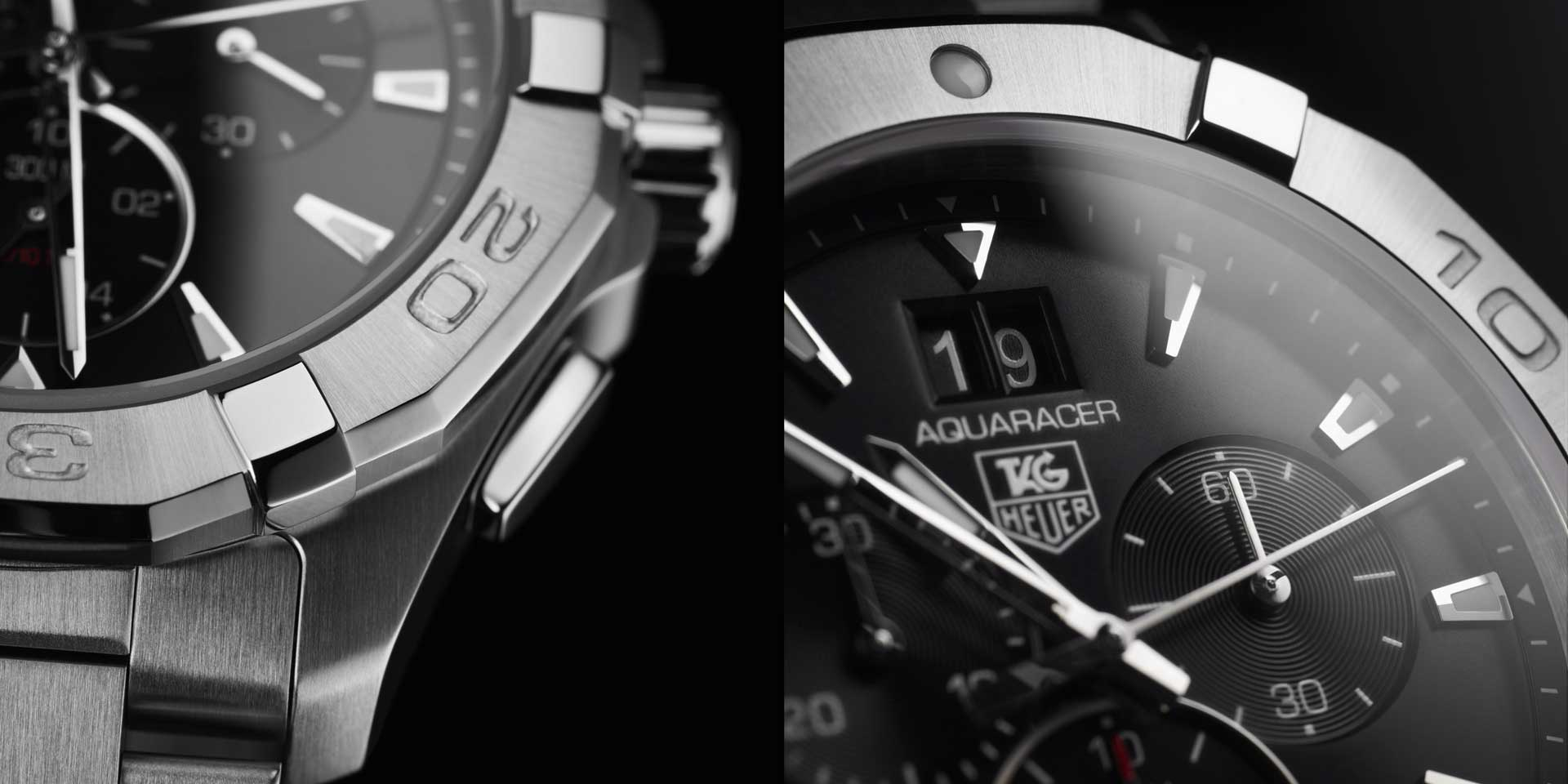 AQUARACER Quartz Chronograph - feature