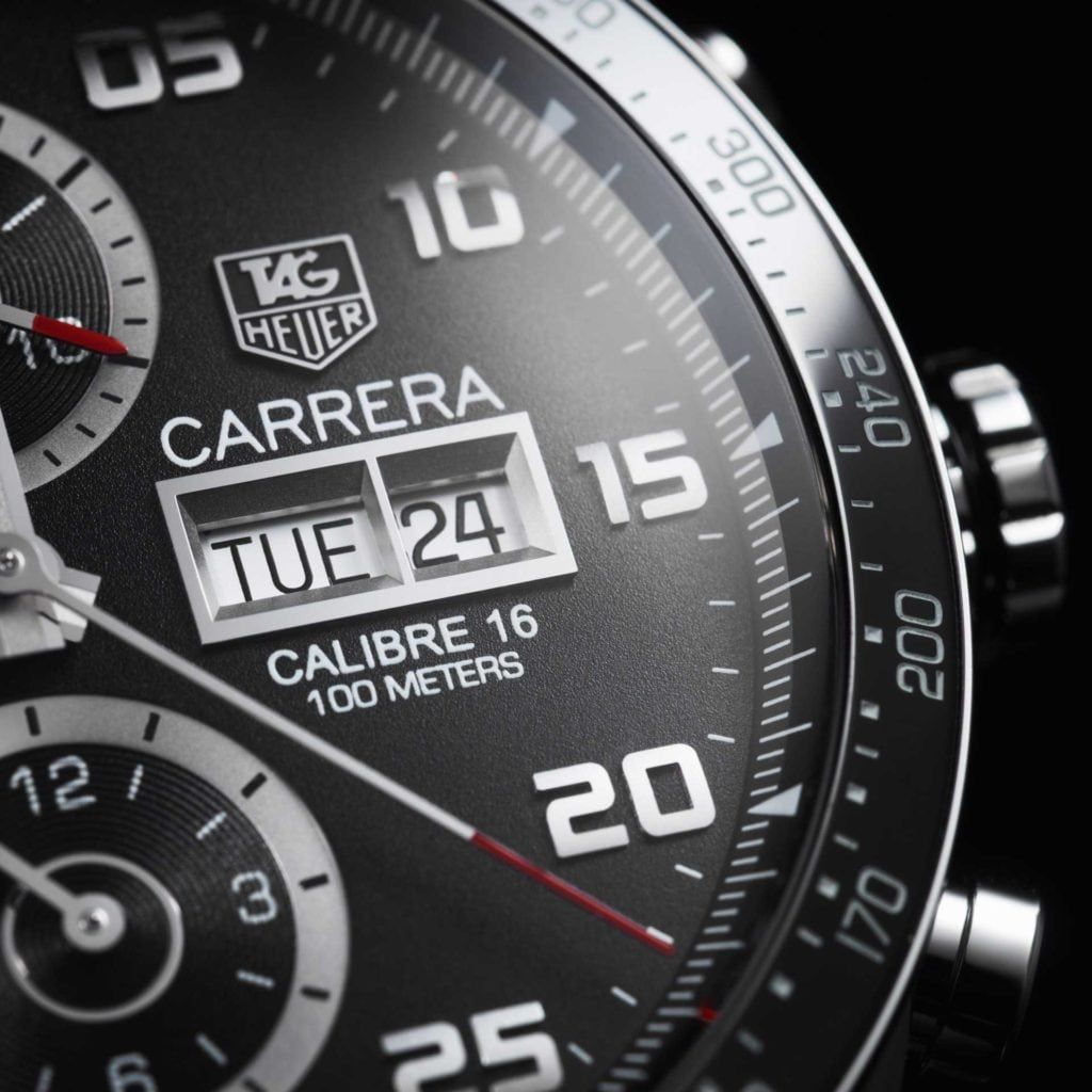 Feature - 0 CARRERA Calibre 16 Day-Date
