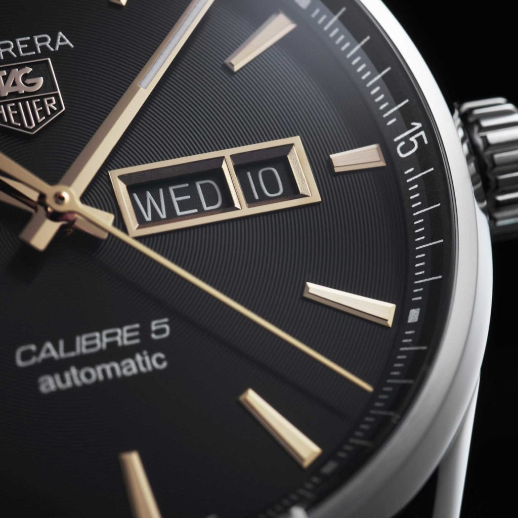 Feature - 0 CARRERA Calibre 5 Day-Date