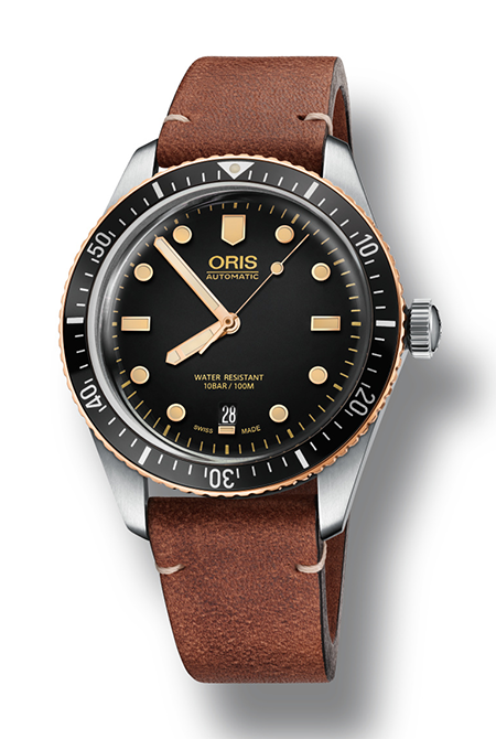 The Oris Divers Sixty-Five Bico Bronze