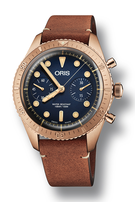 The Oris Carl Brashear Chronograph Limited Edition