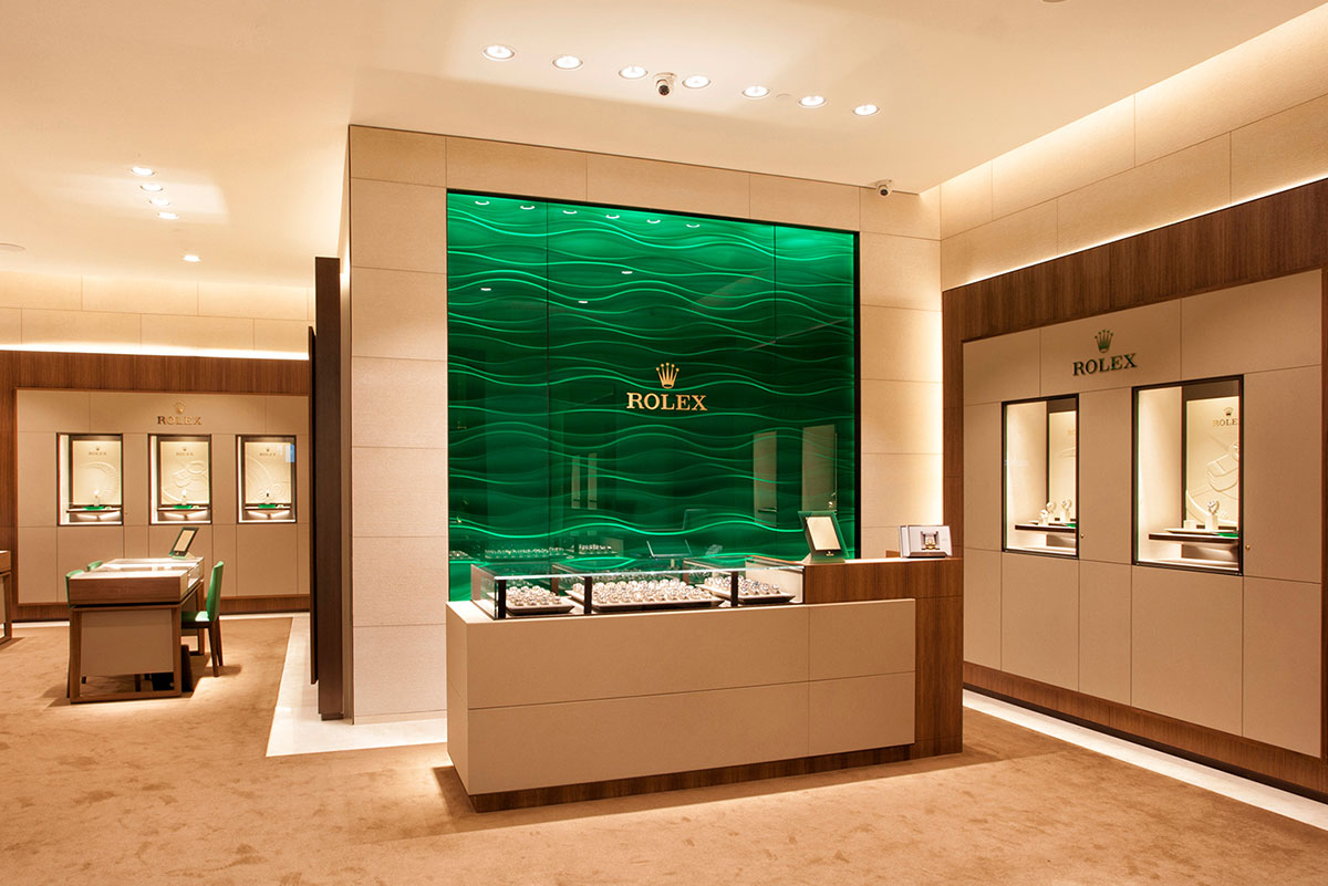 Rolex at Watches of Switzerland Australia