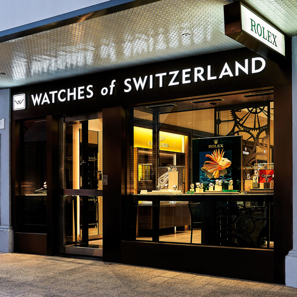 Watches of Switzerland Perth