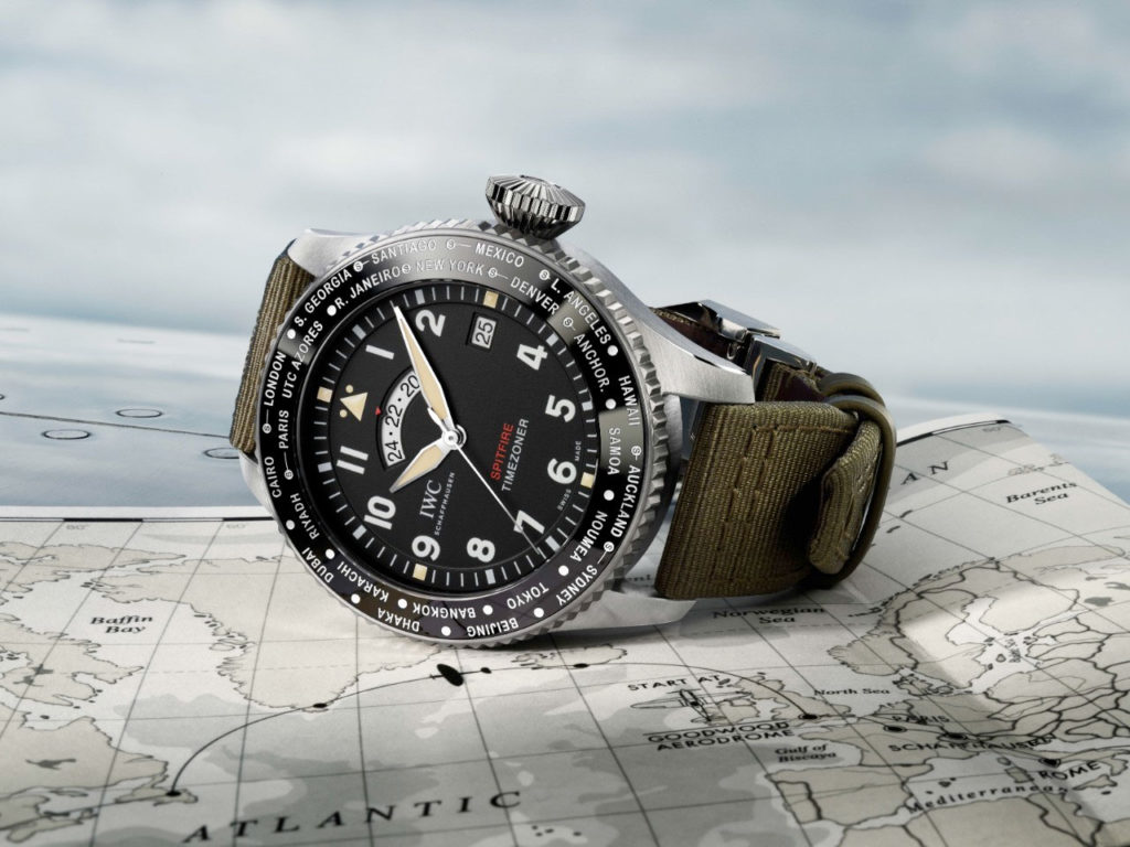 "Feature - 0 Pilot's Watch Timezoner Spitfire Edition ""The Longest Flight"""