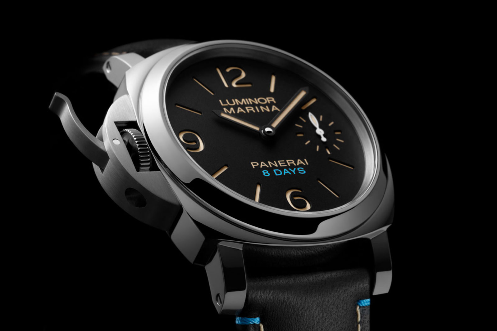 LUMINOR LEFT-HANDED 8 DAYS PAM00796 - feature