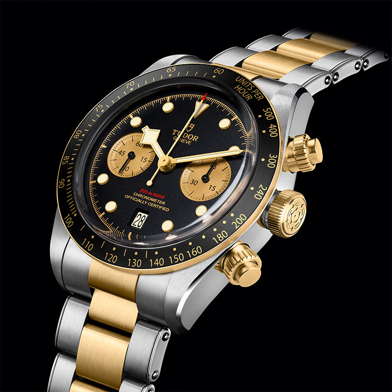 Feature - 0 Black Bay Chrono Steel & Gold