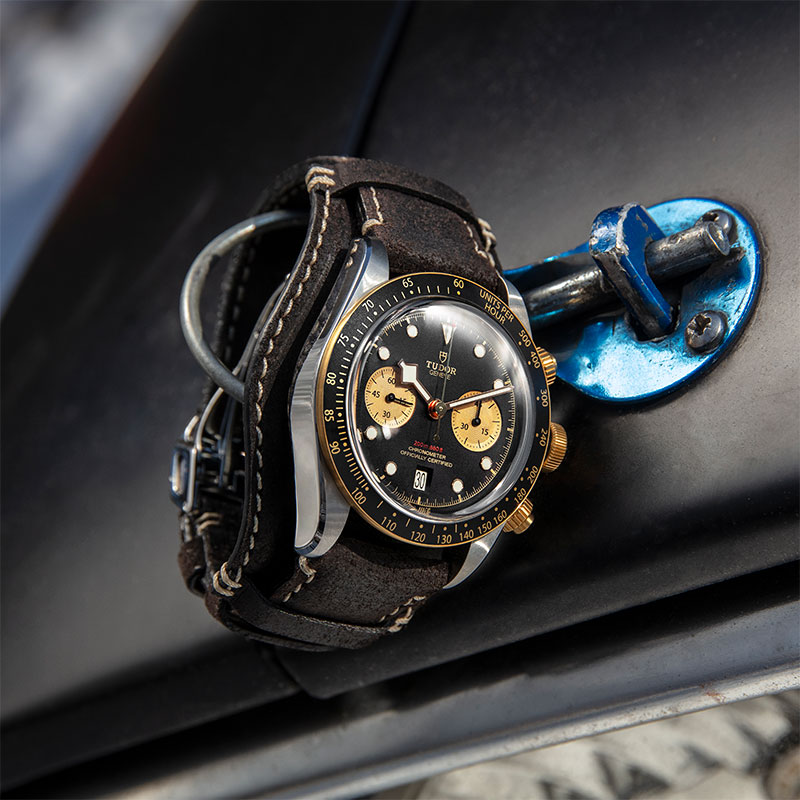 Feature - 3 Black Bay Chrono Steel & Gold