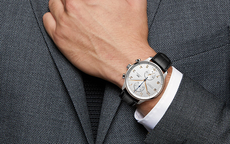 Feature - 0 PORTUGIESER CHRONOGRAPH (Steel)