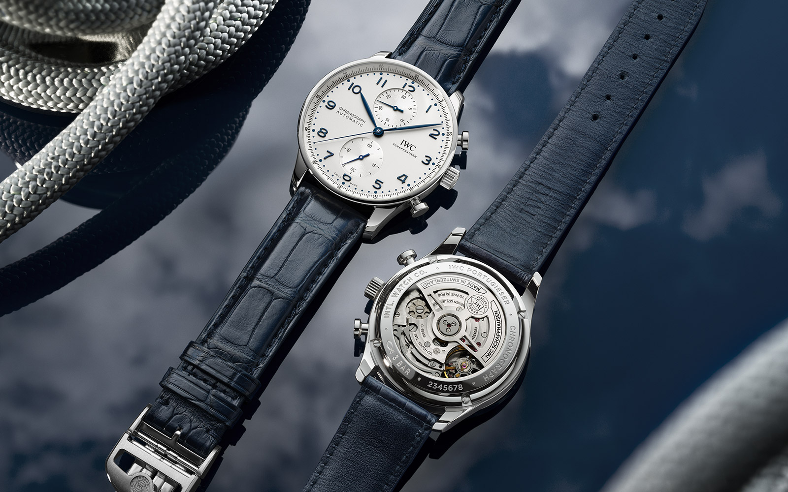 PORTUGIESER CHRONOGRAPH (Steel) - feature
