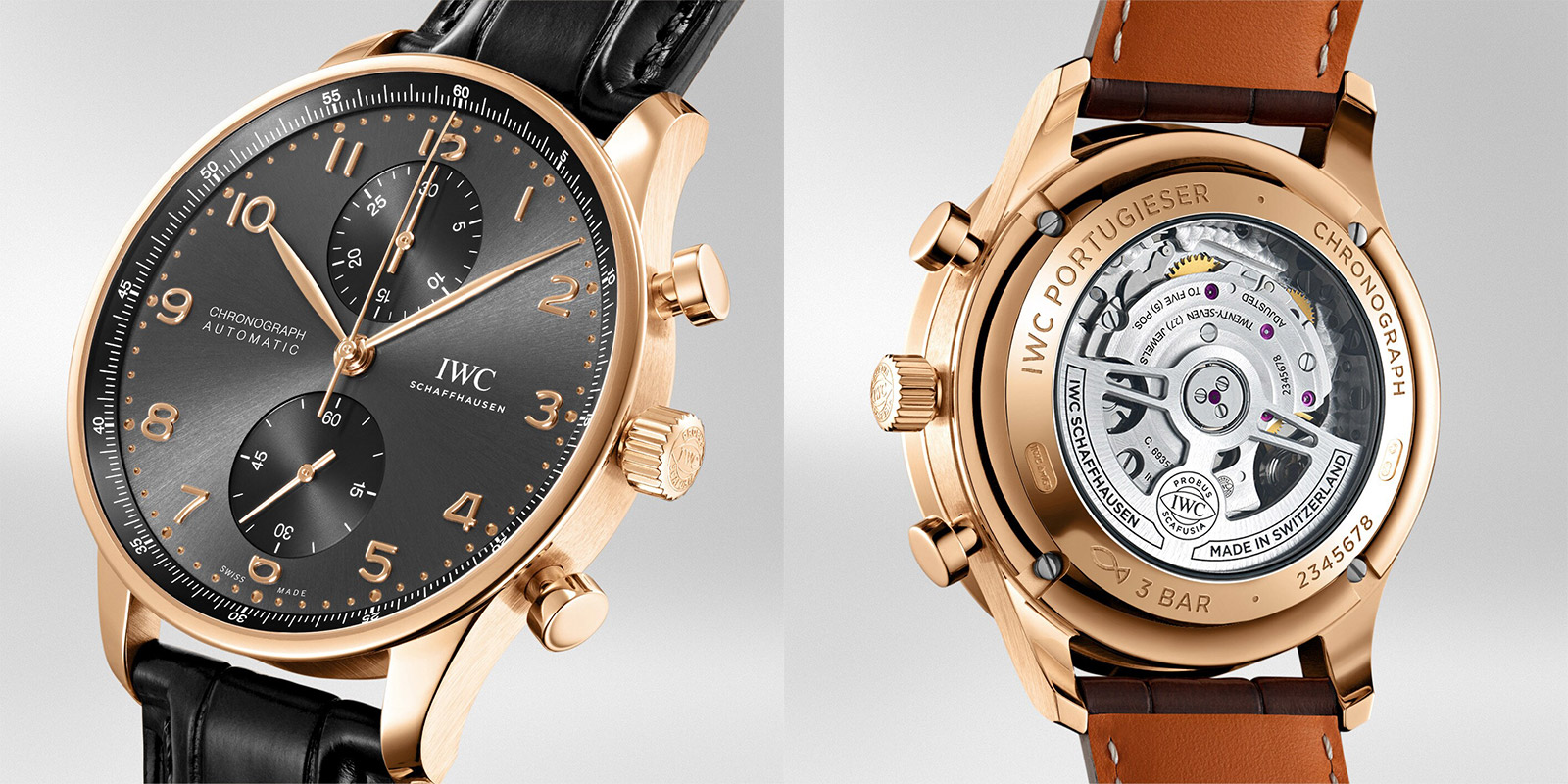 PORTUGIESER CHRONOGRAPH (Gold) - feature