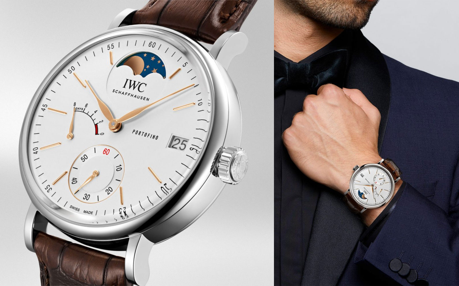 PORTOFINO HAND-WOUND MOON PHASE IW516401 - feature