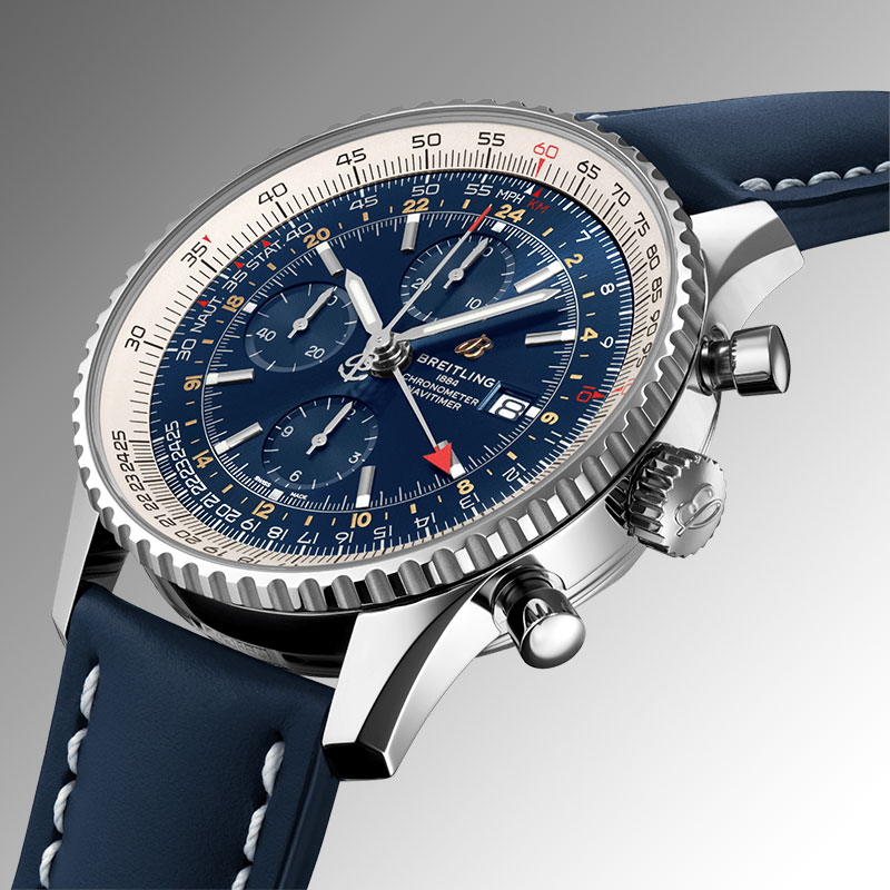 Feature - 0 NAVITIMER CHRONOGRAPH GMT 46 A24322121C2X1
