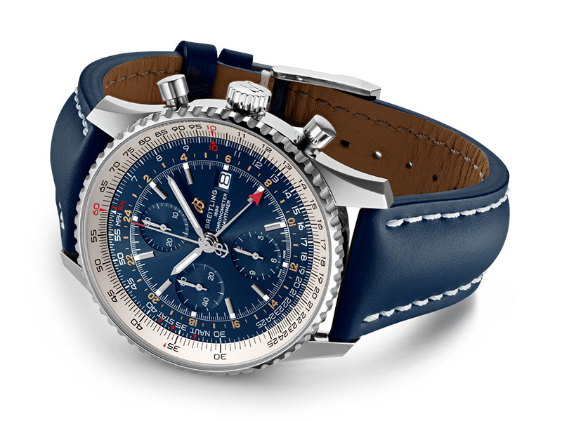 Feature - 2 NAVITIMER CHRONOGRAPH GMT 46 A24322121C2X1