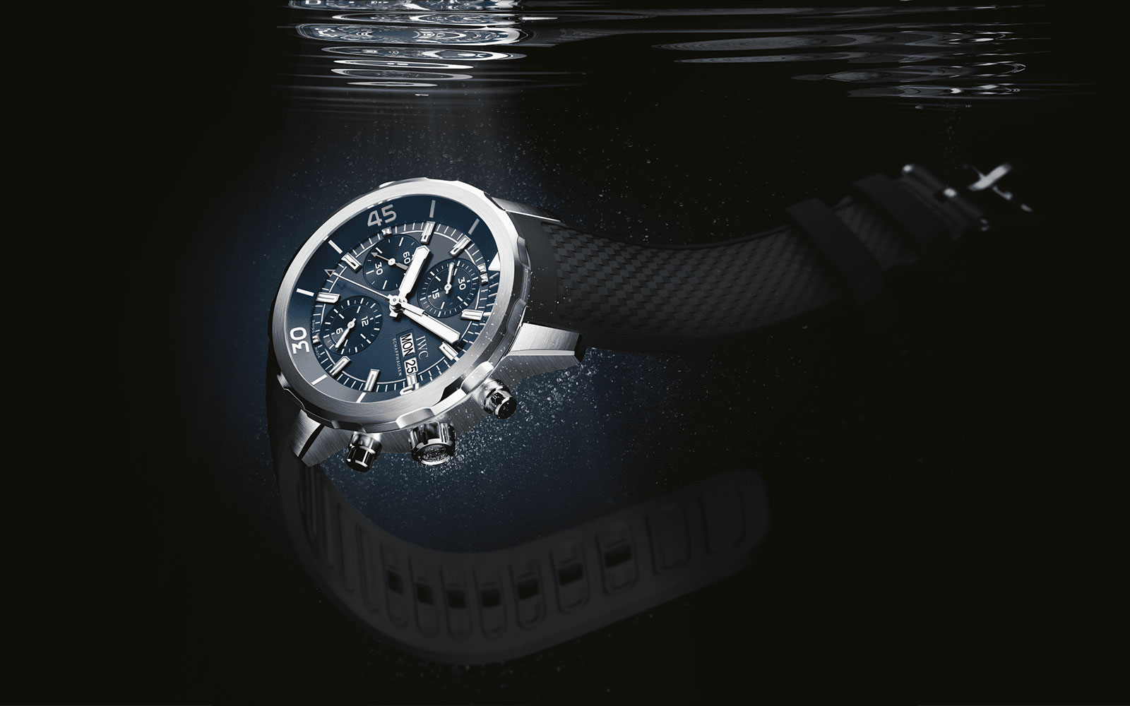 """AQUATIMER CHRONOGRAPH EDITION """"EXPEDITION JACQUES-YVES COUSTEAU"""" IW376805 - feature"""