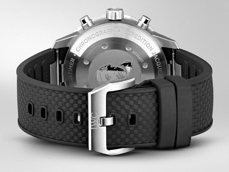 """Feature - 0 AQUATIMER CHRONOGRAPH EDITION """"EXPEDITION JACQUES-YVES COUSTEAU"""" IW376805"""