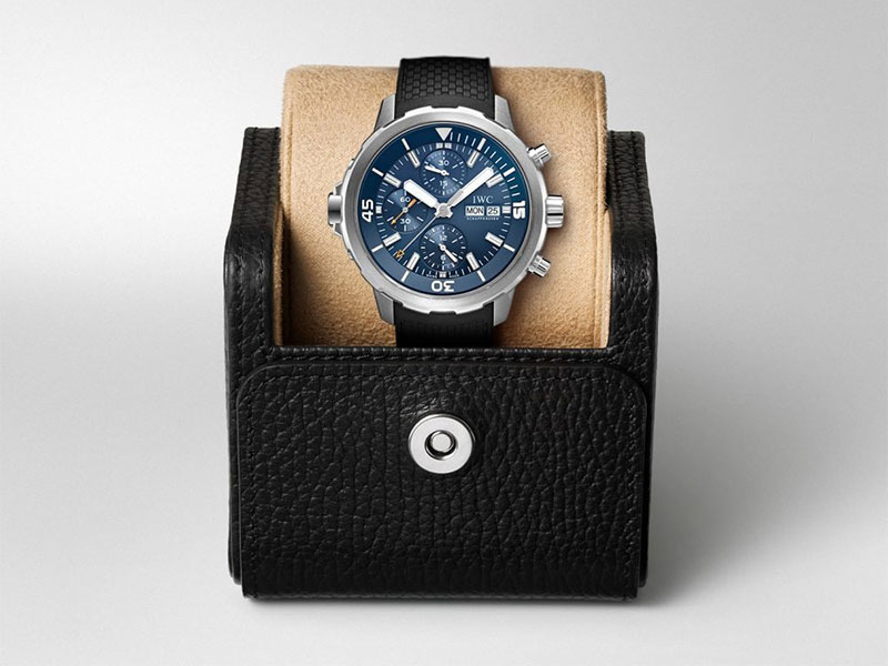 """Feature - 3 AQUATIMER CHRONOGRAPH EDITION """"EXPEDITION JACQUES-YVES COUSTEAU"""" IW376805"""
