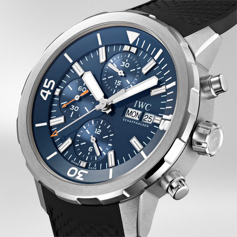 """Feature - 2 AQUATIMER CHRONOGRAPH EDITION """"EXPEDITION JACQUES-YVES COUSTEAU"""" IW376805"""